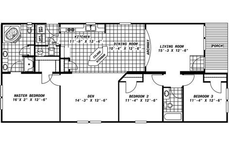 mobile home floor plans with porch mobile homes ideas