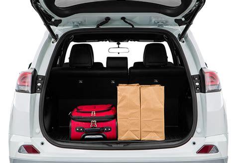Toyota Rav4 Cargo Space The Toyota Rav4 Makes Cargo Storage A Shop Toyota