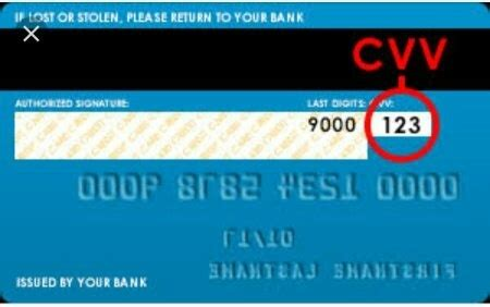 how to find my cvv card number quora