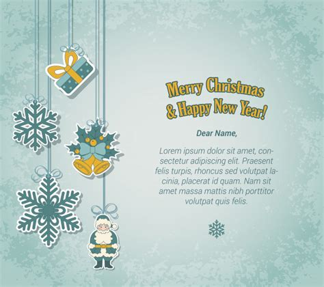 merry christmas   year greeting card  sticker label style vector