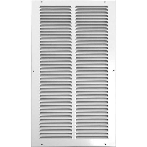 Ventilation Grilles For Ceilings by Shop Accord Ventilation 515 Series White Steel Louvered
