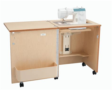 Sewing Cabinet by Inspira Compact Sewing Cabinet Oak