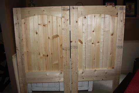 How To Build A Barn Door We Repeated The Process Until Both Doors Were Assembled