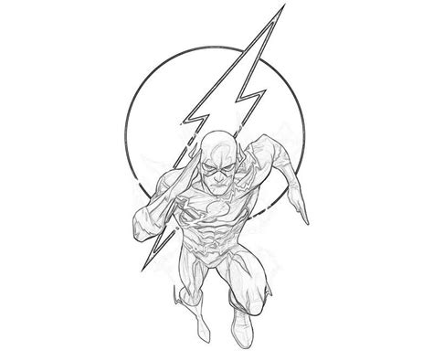 free coloring pages of flash