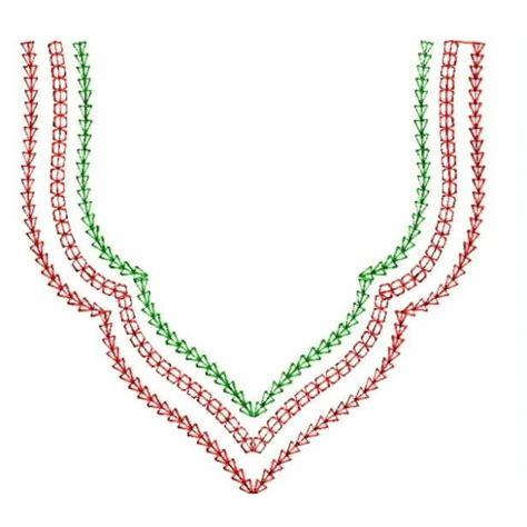 simple neck pattern simple neckline designs 1