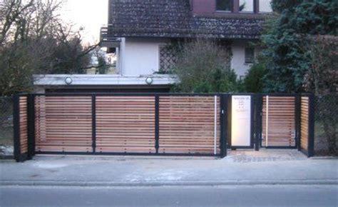 Carport Ideen 2449 by Modernes Tor Mit Holz Kalamos Moderne Tore