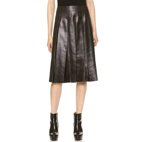 leith town pleated skirt rank style