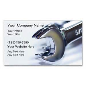 mechanic business cards templates free automotive mechanic business card mechanic with tire socket wrench and tire royalty free