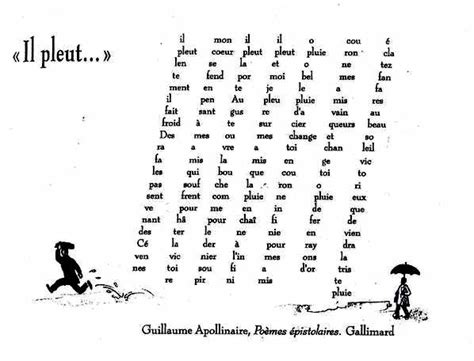 calligrammes by guillaume apollinaire windmills of your mind calligrammes apollinaire