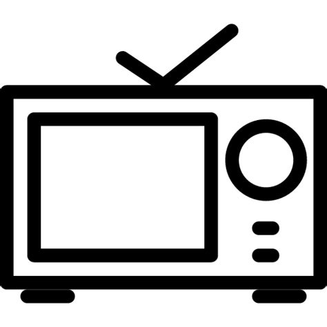 Tv Outline Png tv icon line iconset iconsmind