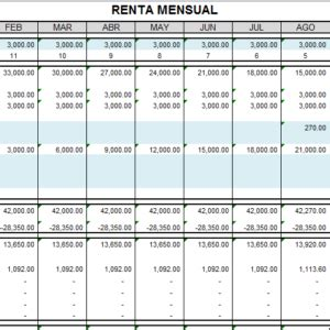 calculo de renta de quinta categora retenciones mensuales archivo excel tips y novedades en excel orientado a