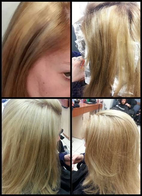 hair cuttery fake hair color this is a before and after color correction by erin m at