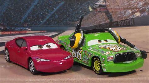 hicks with headset natalie certain new cars 3 mattel disney pixar diecast unboxing
