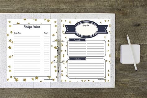 free recipe templates for binders 15 free recipe cards printables templates and binder inserts