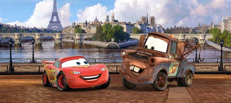 disney cars wall mural wall wall mural wallpaper disney cars 2 lightning mcqueen luigi photo 202 x 90 cm 2 21 yd x 35 43