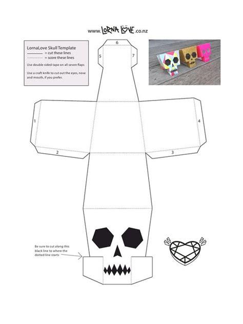 Paper Craft Skull - lornalove papercraft skull lornalove papercraft skull