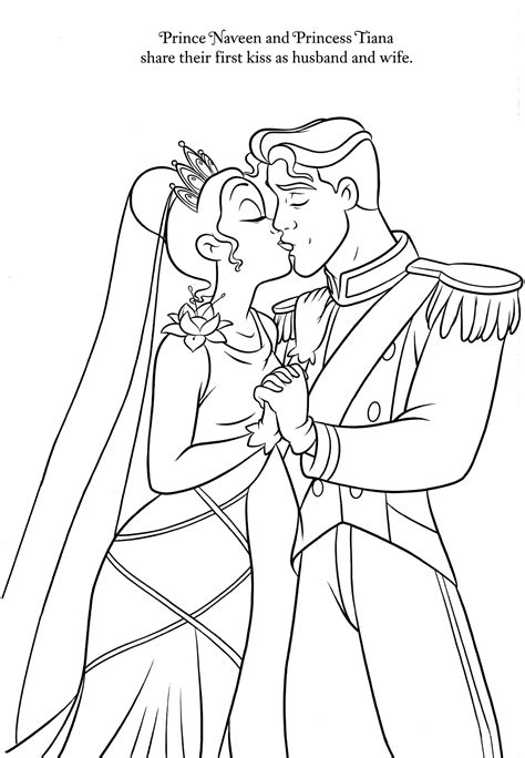 printable disney wedding coloring pages disney coloring pages disney coloring pages pinterest