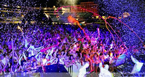 dayglow paint party dayglow