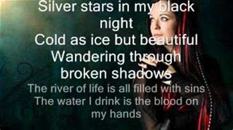 xandria lyrics meaning blood on my lyrics xandria elyrics net