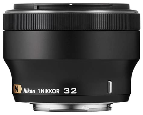 Nikon 1 Nikkor 32mm F 1 2 Silver nikkor 32mm f 1 2 announced the fastest lens for nikon 1