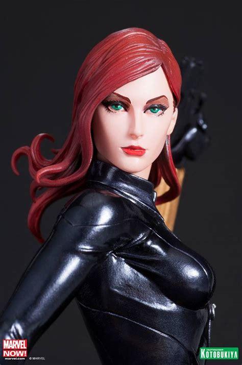 Black Widow Artfx Statue Kotobukiya Pvc kotobukiya marvel black widow artfx statue marvel