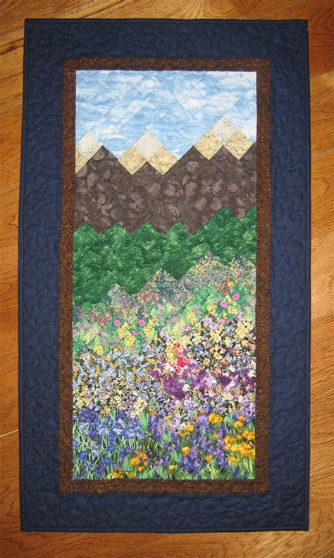 Tahoe Quilts by Quilt Tahoe Mountain Flowers Fabric From Handmade At The Lake