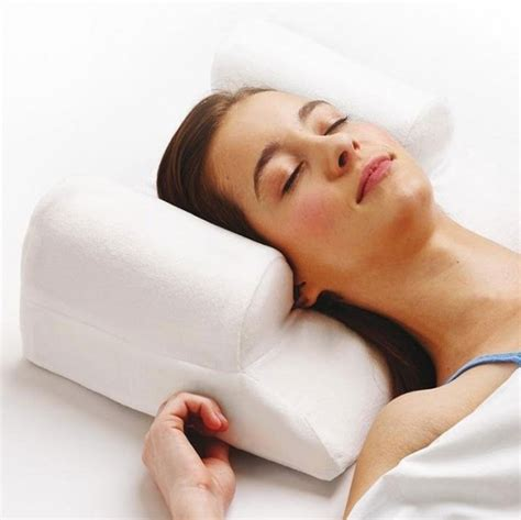 unique pillows to help you get a good night sleep your face pillow this anti ageing pillow has hundreds of