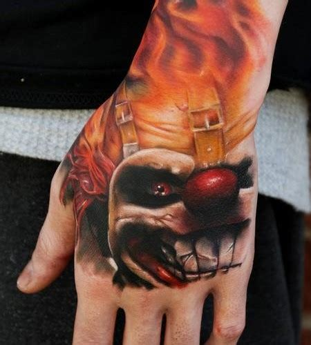 scary clown tattoos 81 tattoos for
