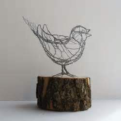 Crystal Chandelier Song Song Sparrow Wire Sculpture