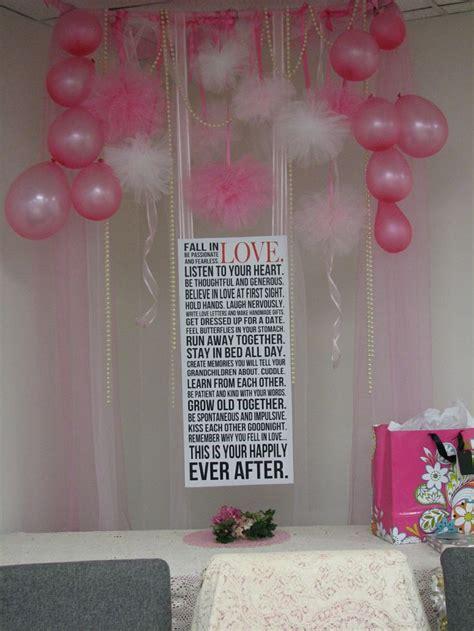 bridal showers part 3 the decorations pinterest inspired bridal shower decorations above the