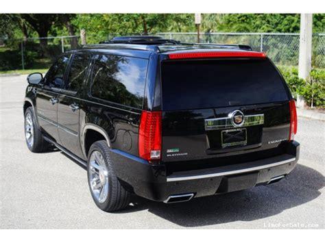 cadillac escalade esv 2012 for sale used 2012 cadillac escalade esv suv limo specialty vehicle