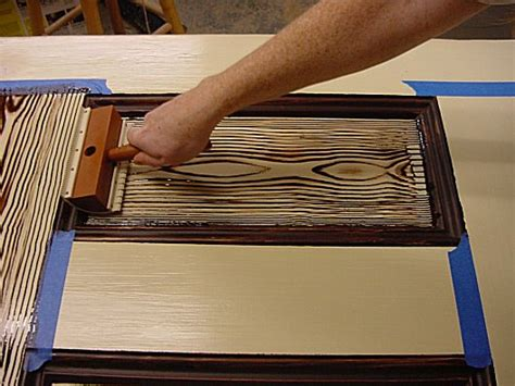 faux wood painting tools graining