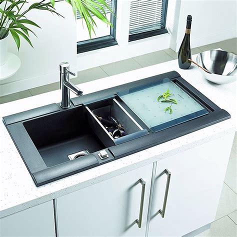 Rok Kitchen Sinks Astracast Geo 1 0 Bowl Composite Rok Metallic Volcano Black Inset Sink Ge10rzhomesk