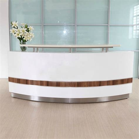 reception front desk for sale modern white curved nail salon reception desk cheap front