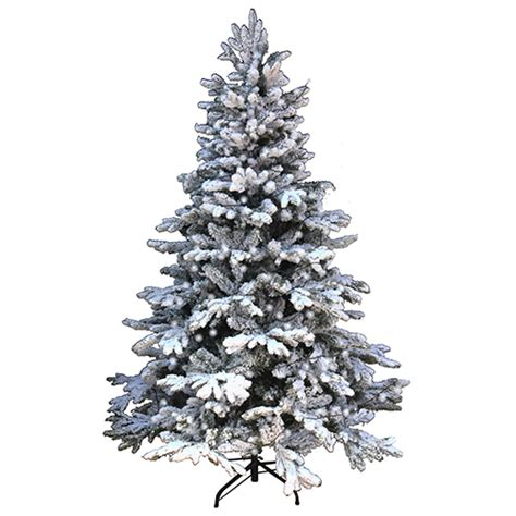 snowy alaskan cluster light tree 1 8m 6ft tree snowy alaskan fir 800 tips free 200 white led lights ebay