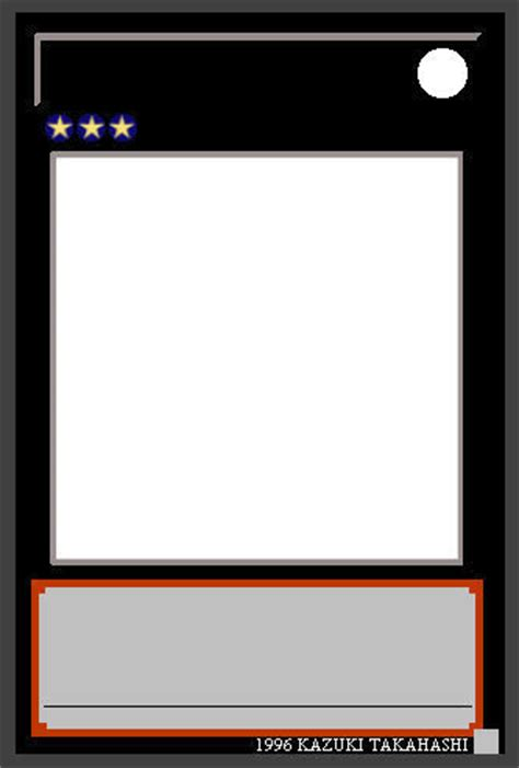 yu gi oh xyz template by masteryubel on deviantart