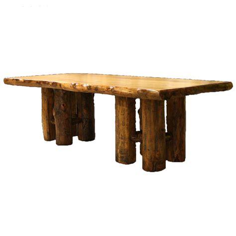 aspen log furniture aspen stump table black forest decor