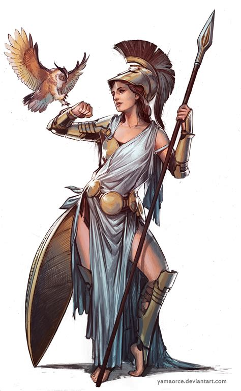 mythology legends of gods goddesses heroes ancient battles mythical creatures books athena by yamaorce on deviantart
