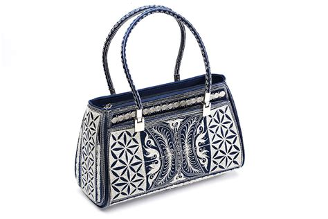 Handcrafted Handbags - laga handcrafted vegan handbag free motion embroidered