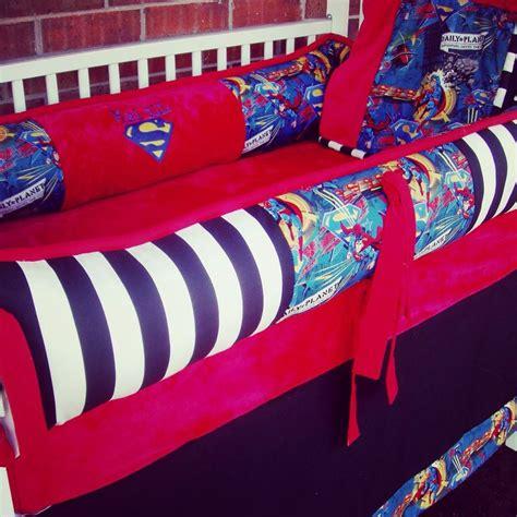 Superman Crib Bedding Set Custom Superman Crib Bedding Boy Bedding Nursery Future Dreams Pinterest Crib Bedding