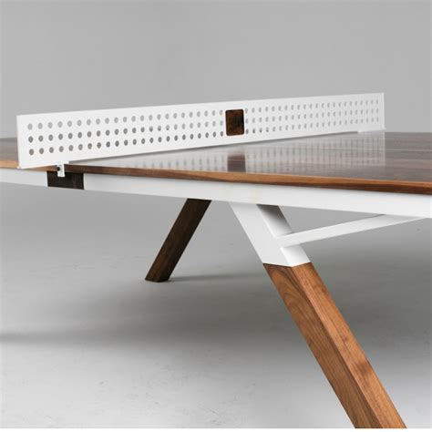 designer ping pong table the woolsey ping pong table when tabele tennis meets