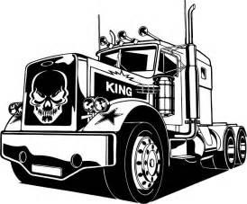 18 Wheels Truck Driver Skull 18 Wheeler Semi Big Rig Car Diesel Truck Driver