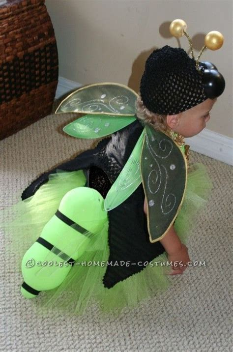 easy  amazing homemade lighted firefly costume