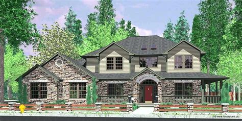 country house plan with wrap around porch great wrap around porch hwbdo farmhouse home plans house plans luxamcc