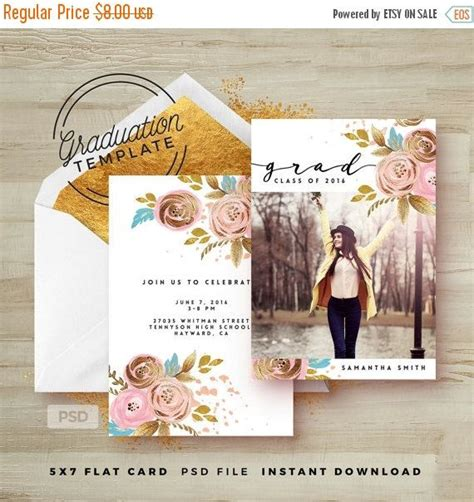 25 Best Ideas About Graduation Invitation Templates On Pinterest Graduation Invitations Grad Announcement Template