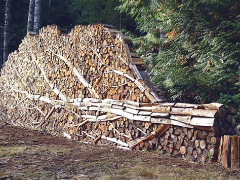 Do It Yourself Kitchen Design cordwood fences diy projects for everyone