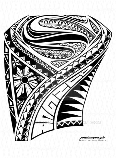 superman tribal tattoos superman by juliussantosdungca on deviantart