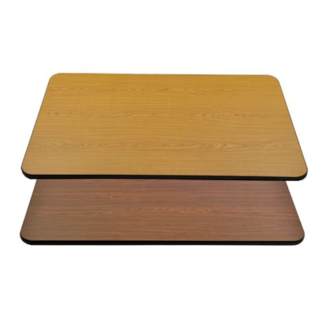 Rectangular Table Top by Omcan Rectangular Square Oak Walnut Restaurant Table Tops