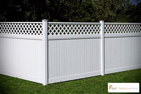 pvc plastic fence company install vinyl fences 187 fencing