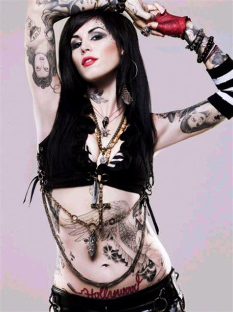 kat von d tattoo artist high on lollypops visual icon kat von d